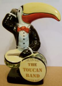 Carlton Ware Toucan Band - The Toucan Drummer - Limited Edition - SOLD